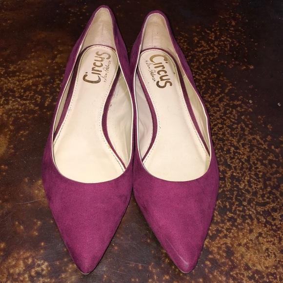 Sam Edelman Shoes - Circus by Sam Edelman Maroon Flats - like new